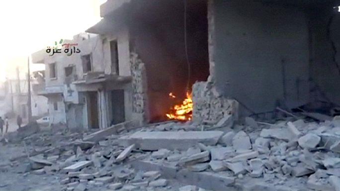 Aleppo ellen indul a szíriai hadsereg
