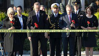 انفجارهای آنکارا: بازدید اردوغان و برکناری فرماندهان پلیس