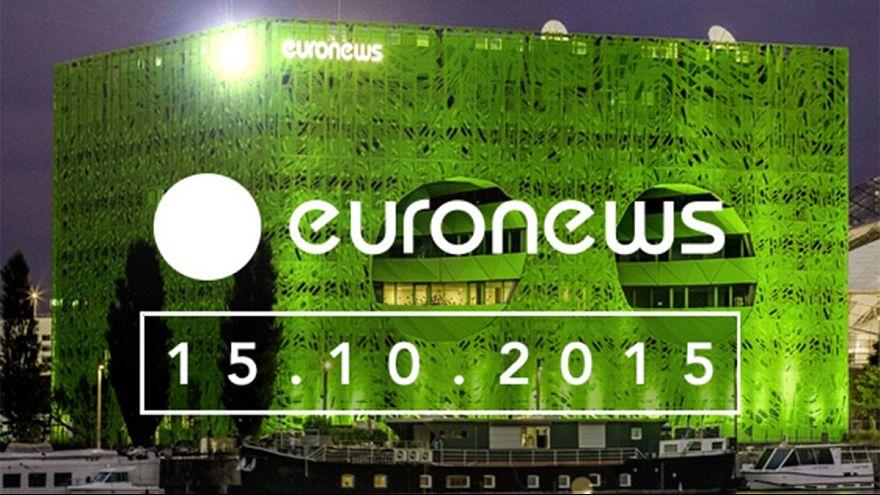 Les personnalités françaises souhaitent bonne chance à euronews 2/3
