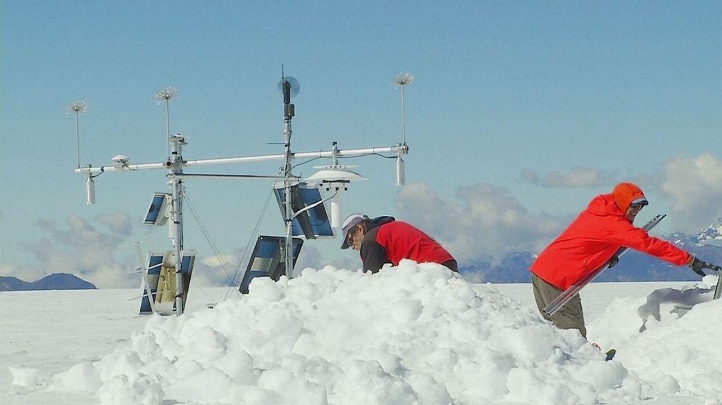 "Таяние ледника Quelccaya и феномен ""El Niño"""