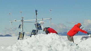 Estudiando el impacto de El Niño en el glaciar peruano Quelccaya