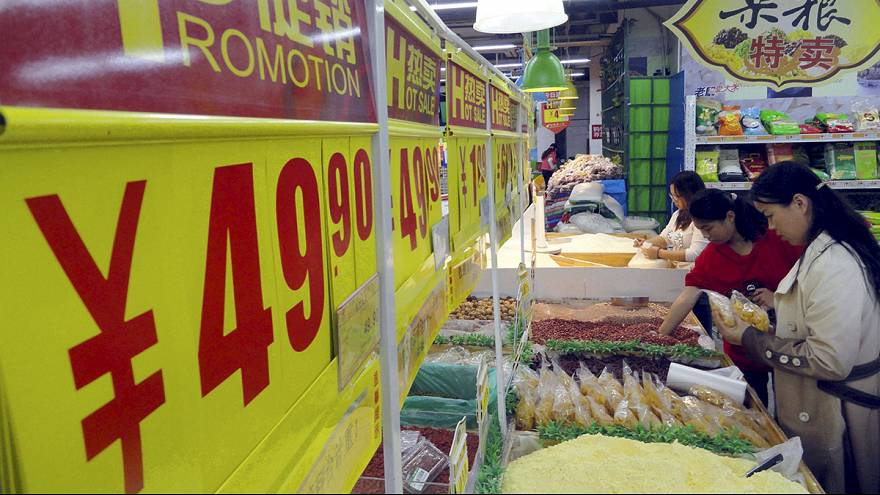 Çin'de tüketici fiyatları enflasyonu beklentilerin altında