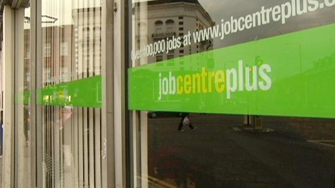 Britain's unemployment rate falls to seven-year low