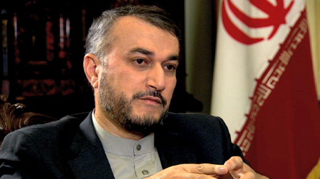 """Hossein Amir-Abdollahian: """"Irão apoia decisão de Putin para enfraquecer os terroristas na Síria"""""""