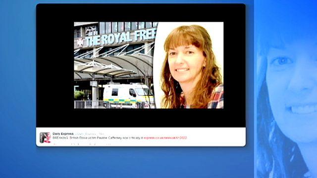 """Ebola : l'infirmière britannique dans un """"état critique"""" après une rechute"""