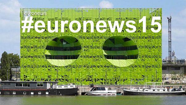 """В реальном времени: следите за официальным открытием новой штаб-квартиры """"евроньюс"""""""