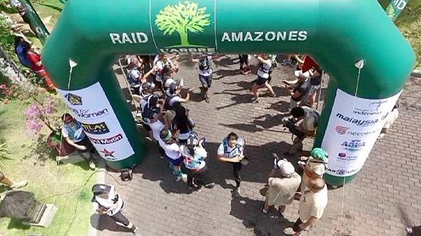 """Le """"Gang des Lyonnaises"""" gagne le Raid l'Arbre Vert"""
