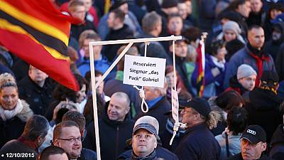 German prosecutors investigate Dresden mock gallows protest