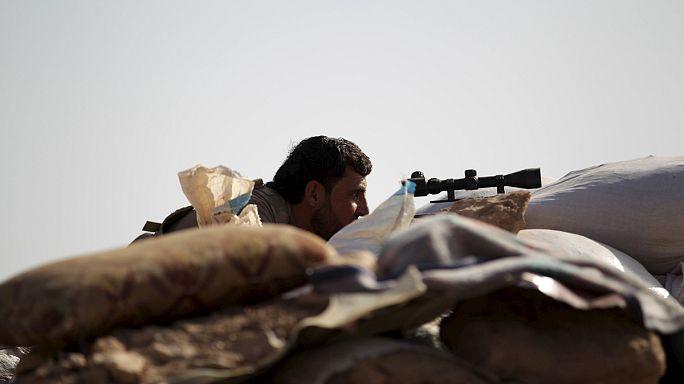 معارك بين المعارضة السورية وداعش في حلب