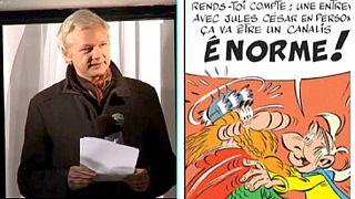 Asterix und Obelix bekommen Beistand von Assange