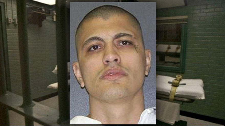 Teksas'ta polis öldüren bir suçlu idam edildi
