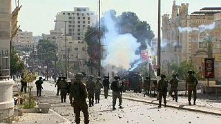 Os confrontos continuam na Cisjordânia