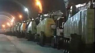 Irán revela una enorme base de misiles subterránea