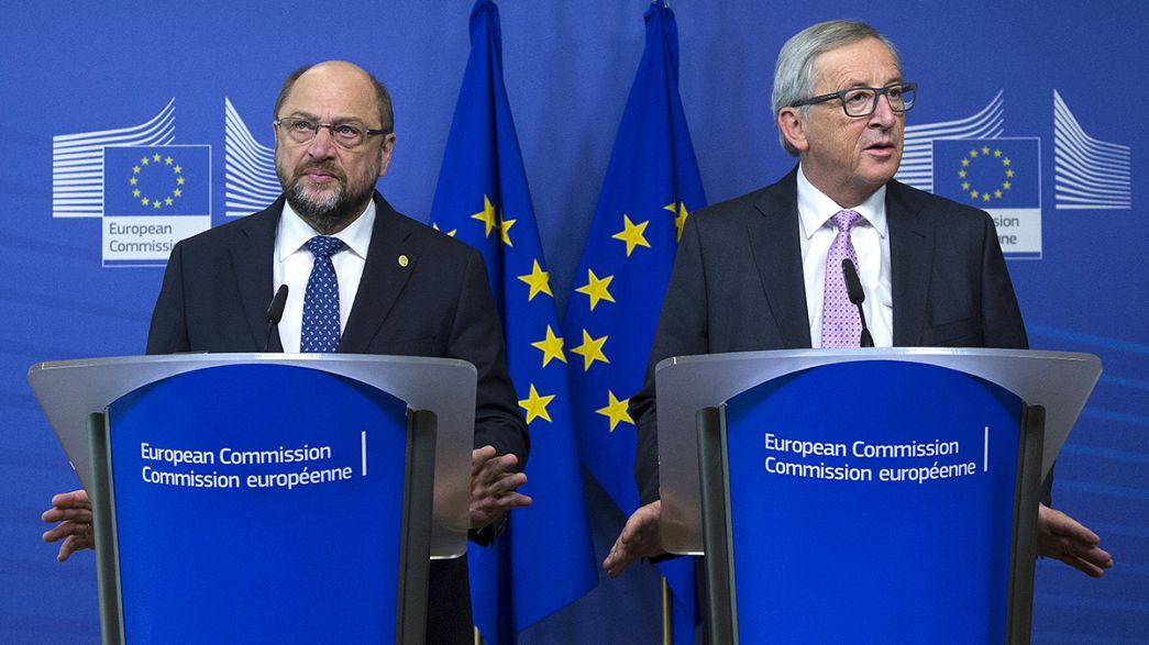 أزمة اللاجئين إلى أوروبا موضوع رئيسي في قمة دول الاتحاد