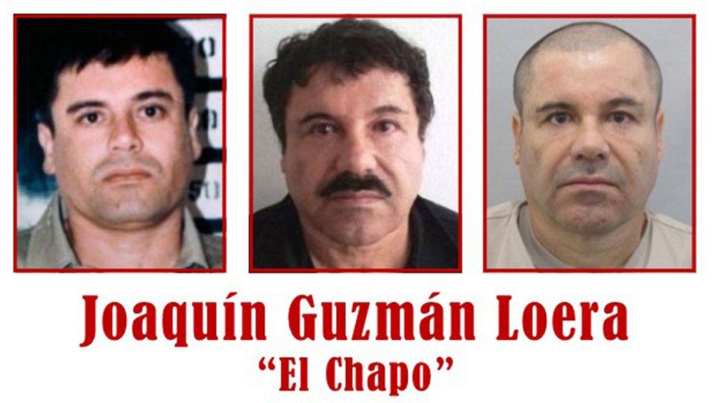 El Chapo: hammering heard on escape video