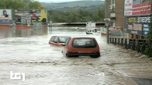 Italien: Heftige Unwetter richten schwere Schäden an