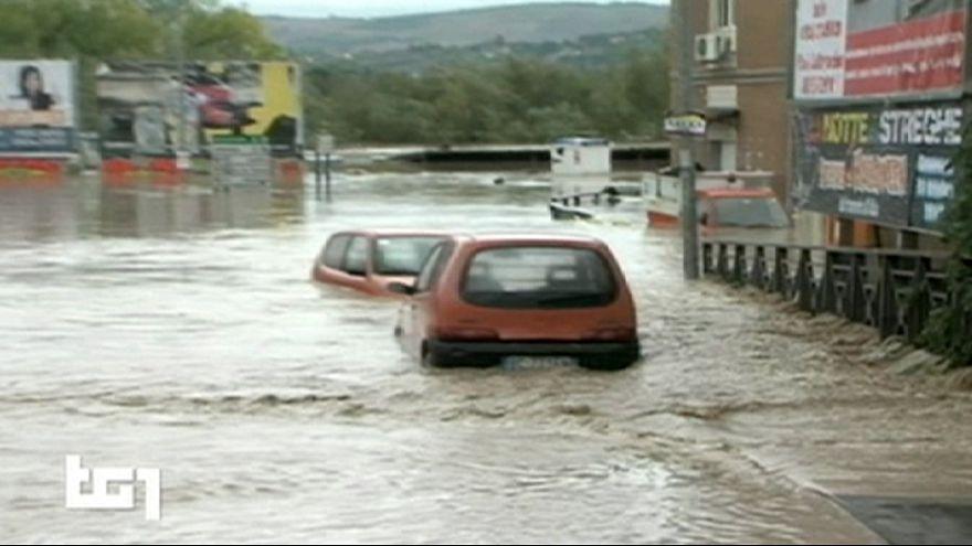 Италия под водой