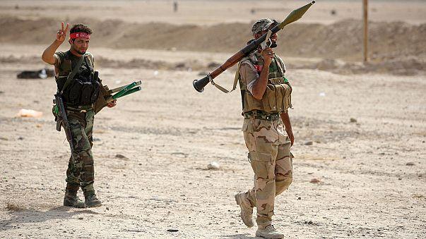Irak: Amerikai légi támogatás mellett nyomul az iraki hadsereg észak felé