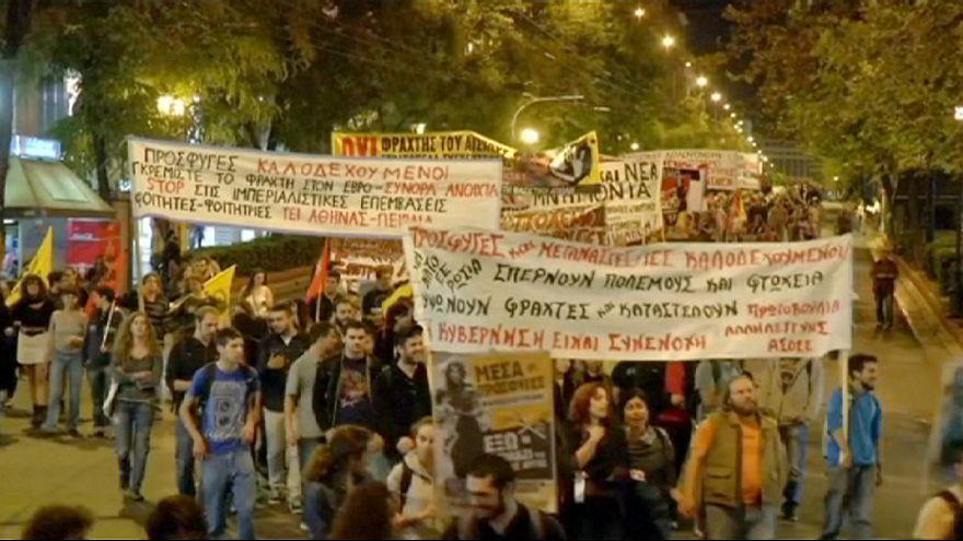 اليونان: مسيرة مناهضة لسياسة الهجرة التي ينتهجها الإتحاد الأوروبي