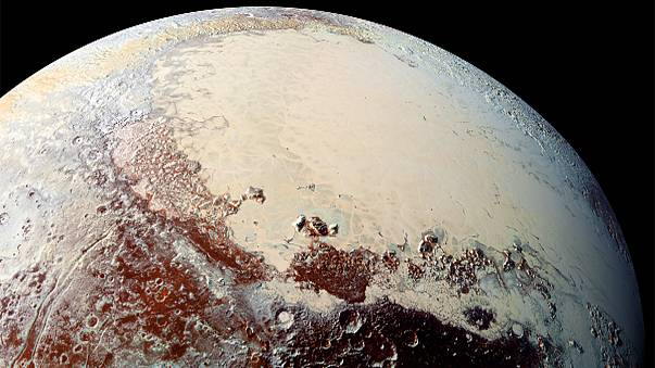 Scientists amazed at diversity of Pluto's colours