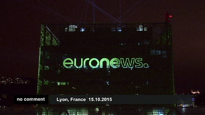 Euronews'un yeni ofisi kapılarını böyle açtı
