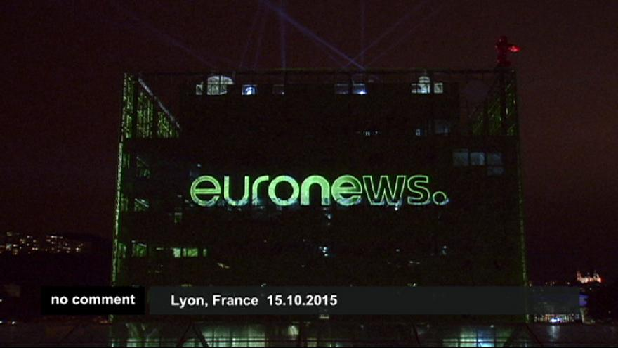 Az Euronews székházavatójának emlékezetes pillanatai