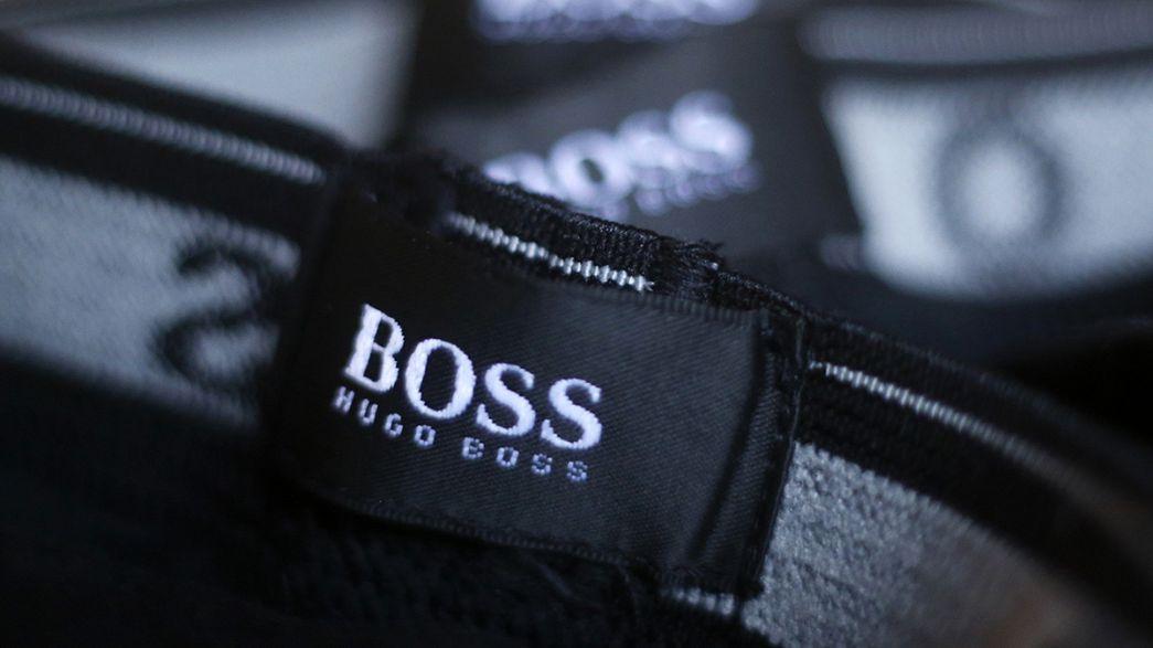 Hugo Boss se une a otras marcas de lujo europeas, castigadas por la ralentización asiática