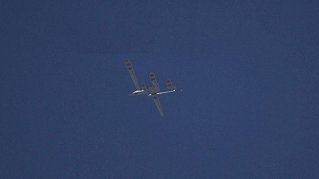 Türk savaş uçakları milliyeti belirlenemeyen bir İHA düşürdü