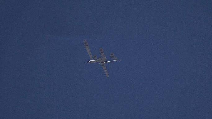 Turkey shoots down unidentified drone on Syrian border