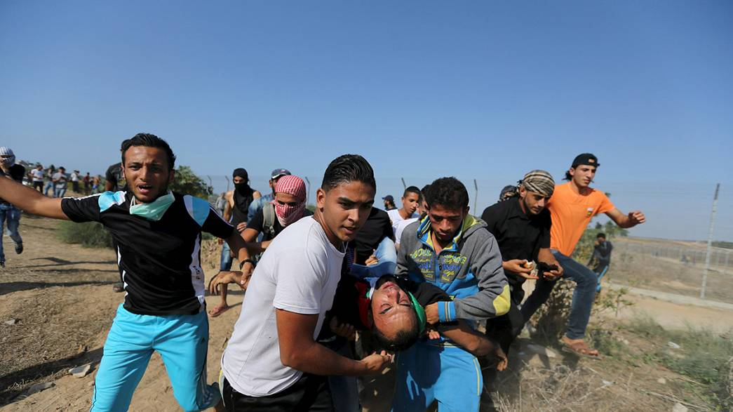 Clashes escalate in Gaza and the West Bank as Israel mobilises soldiers to help police