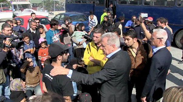 ЕС открыл на Лесбосе центр приёма беженцев
