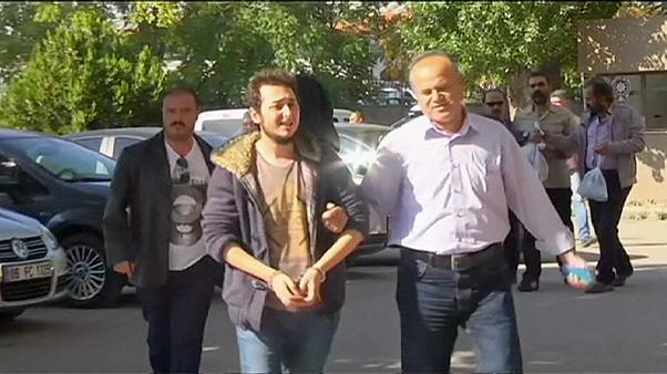حضور سه مظنون به مشارکت در انفجارهای آنکارا در دادگاه