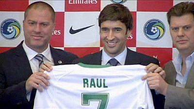 La North American Soccer League, último objetivo de Raúl