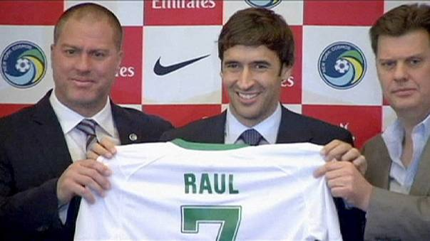 Former Real forward Raul to retire in November