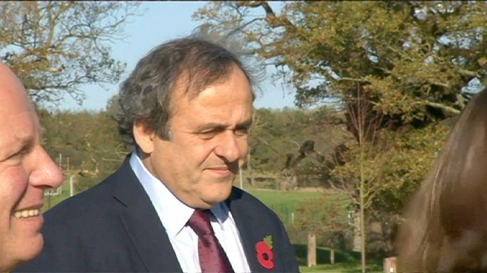 Az FA felfüggeszti Platini támogatását