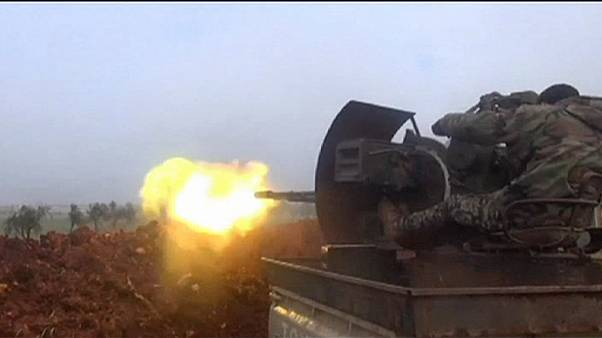 Halep'te muhaliflere karadan saldırı düzenlendi