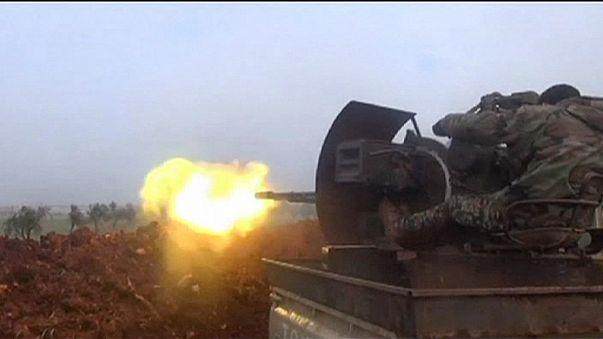 الجيش السوري يبدأ عملية برية في حلب بدعم جوي روسي