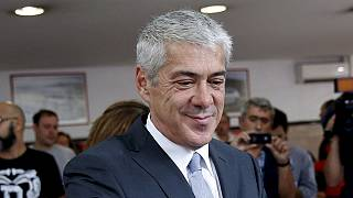 El ex primer ministro portugués José Sócrates, liberado tras estar en prisión domiciliaria