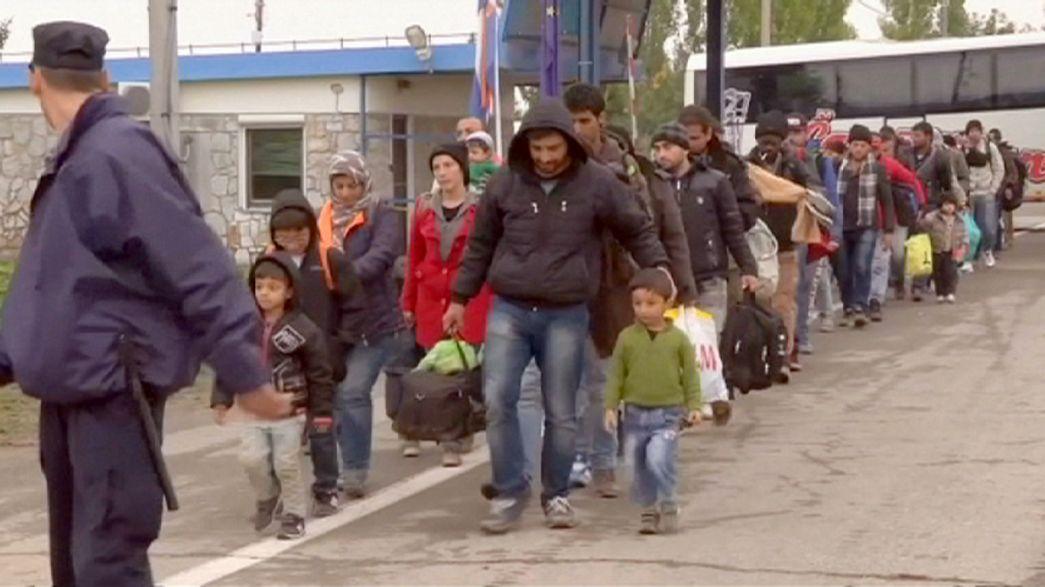 """Turquía califica de """"inaceptable"""" la propuesta europea para gestionar el flujo de refugiados"""