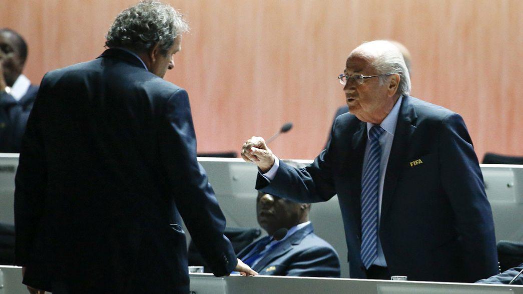 """Blatter habla del pago a Platini como """"un acuerdo entre caballeros"""""""
