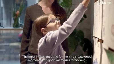 The best gift (The Norwegian Cancer Society)