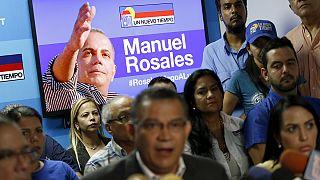 Venezuela: Opposition politician Rosales in court after arrest on return from exile