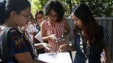 Early voting starts in Myanmar poll after activists are arrested for Facebook posts
