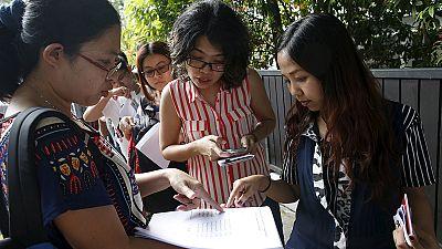 Los birmanos expatriados comienzan a votar en las históricas elecciones birmanas de noviembre