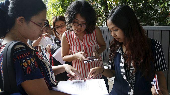 Bangkokban és Szingapúrban már szavaznak a mianmariak