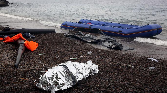 Menekült tragédiák az Égei-tengeren