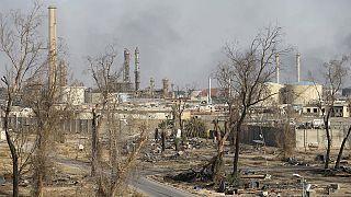 پیشروی نیروهای عراقی در بیجی