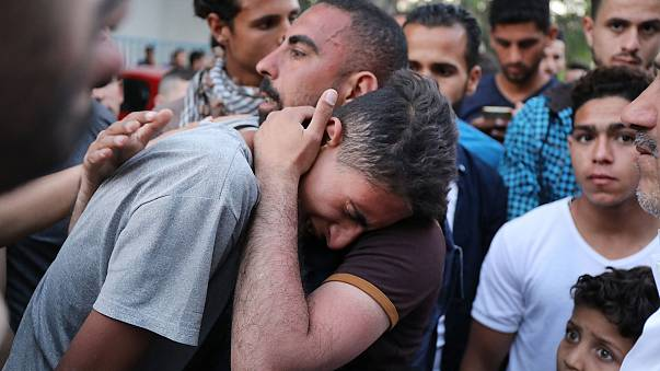 Image: Tensions In Gaza Remain High After Continuous Border Clashes With Is