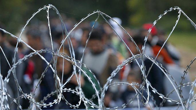 Macaristan Slovenya sınırında kontrolleri başlattı