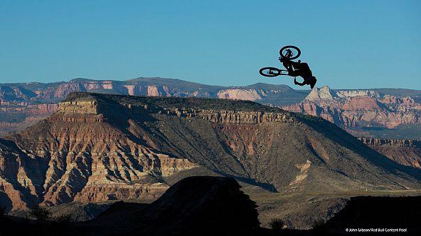 Duplázó repülő biciklis